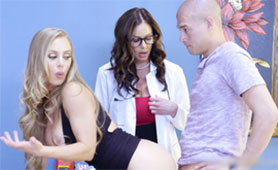 Kendra Lust Horny Doctore Wants to Join Them!