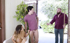 Promiscuous Fiance Eva Lovia Undressed and Took Big-Headed Throbber of their Gardener - Cheating Wife Movies