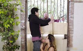 Stunning Neighbors Wife Sucks and Fucks Me in the Backyard - Cheating Sex Videos