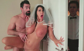 Cheating Wife Sex Videos with Busty Latina Bride August Taylor