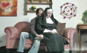 Busty Nun Have Sex After Church Mass