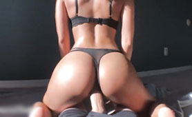 Hot Ass Croatian Wife Rides My Thick Dick and Jerks Me Off - Point of view