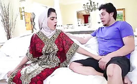Poor Arab Girl Nadia Couldn't Resist My Cock