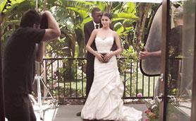 Latina Model Sophia Leone as a Bride in Interracial Sex Videos