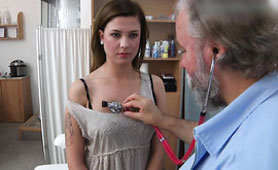 Old Russian Stud is a Kinky Pussy Doctor