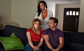 They Will Be Punished Because Of Spying. But How?! - Threesome FFM Porn