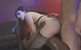 PAWG Italian Brunette Valentina Nappi Stretches Every Hole