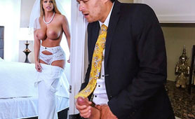 The Best Man in Action - Cheating Sex on the Wedding Day - The Bride Can't Walk!!