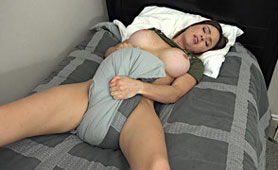 For Lonely Mom her Pillow is the Only Consolation