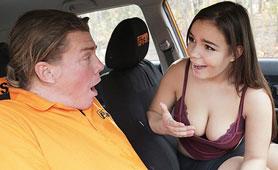 Curvy Czech Busty Girl Fucks Instructor in Driving School